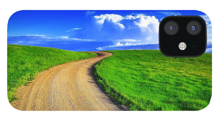 Road IPhone 12 Case featuring the photograph Road To Heaven by Kadek Susanto