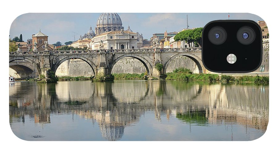 Arch IPhone 12 Case featuring the photograph Rome by Madzia71