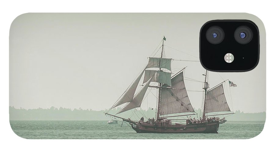 Art IPhone 12 Case featuring the photograph Sail Ship 2 by Lucid Mood