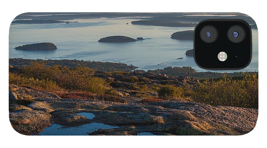 Acadia IPhone 12 Case featuring the photograph Sea Dots by Kristopher Schoenleber