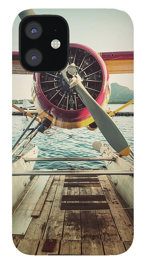 Propeller IPhone 12 Case featuring the photograph Seaplane Dock by Shaunl