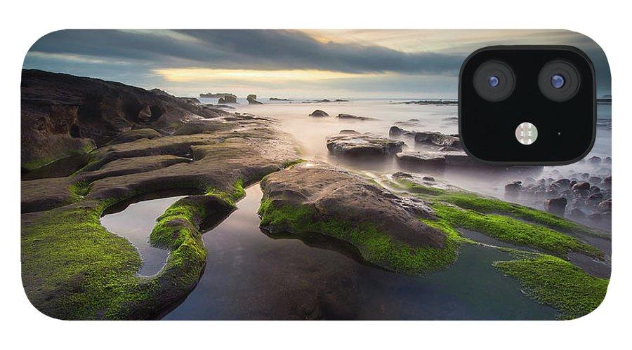 Scenics IPhone 12 Case featuring the photograph Seascape Bali by Www.tonnaja.com