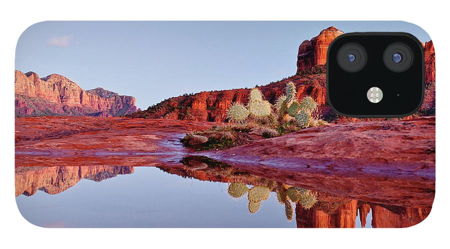 Scenics IPhone 12 Case featuring the photograph Sedona Arizona by Dougberry