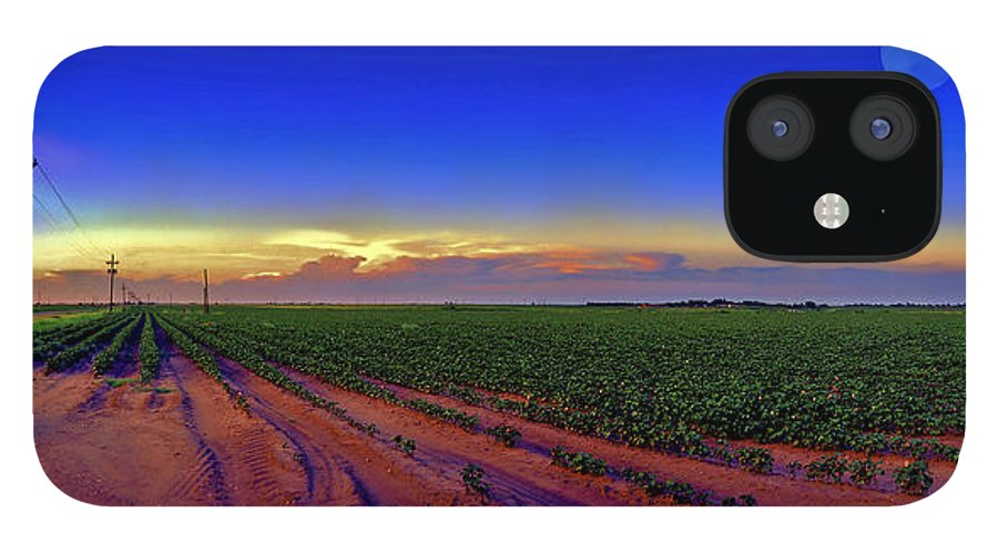 West Texas IPhone 12 Case featuring the photograph Serenity by Robert Hudnall