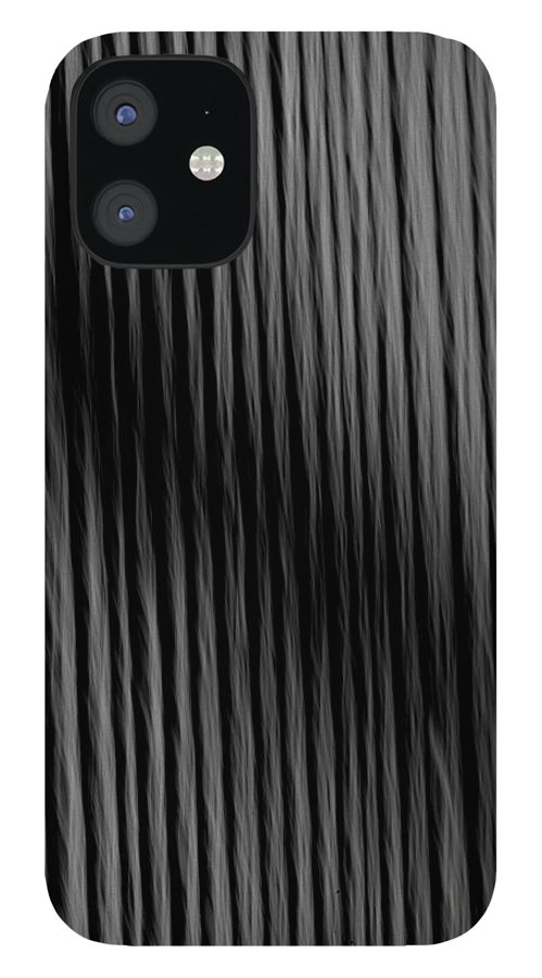 Lines IPhone 12 Case featuring the photograph Shadow Lines by Keith Gondron