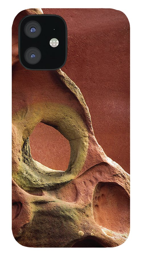 Geology iPhone 12 Case featuring the photograph Sinister Forms by By Mediotuerto