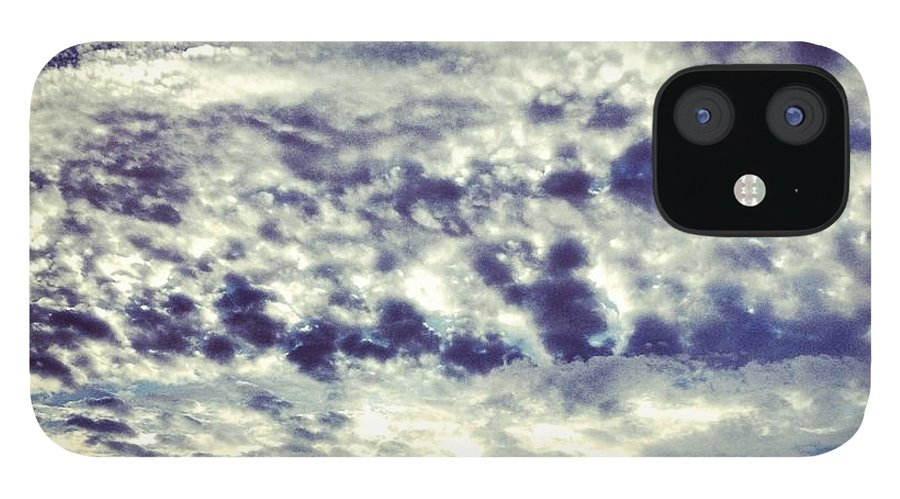 Clouds IPhone 12 Case featuring the photograph Sky by Christy Beckwith
