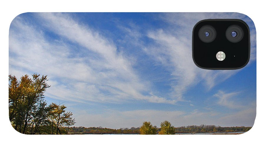 Landscape IPhone 12 Case featuring the photograph Squaw Creek Landscape by Steve Karol