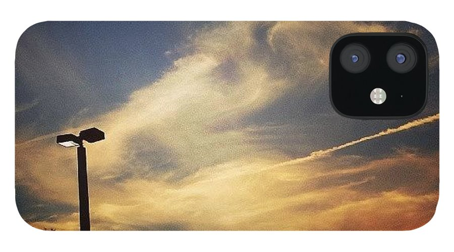 Nature IPhone 12 Case featuring the photograph #sunset #gorg #nature by Colleen Morrison
