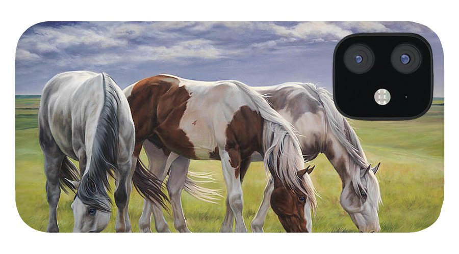 Michelle Grant iPhone 12 Case featuring the painting Tail Wind by JQ Licensing