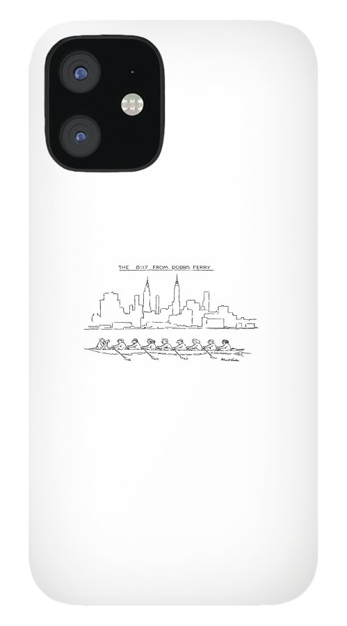 The 8:17 From Dobbs Ferry iPhone 12 Case