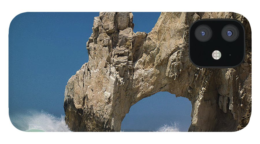 Scenics IPhone 12 Case featuring the photograph The Arch Of Los Cabos San Lucas by Marc Javelly