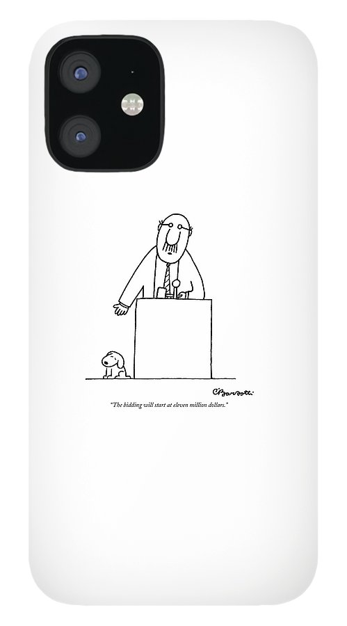 The Bidding Will Start At Eleven Million Dollars IPhone 12 Case