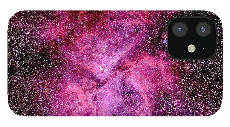 Southern Hemisphere IPhone 12 Case featuring the photograph The Carina Nebula In The Southern Sky by Alan Dyer/stocktrek Images