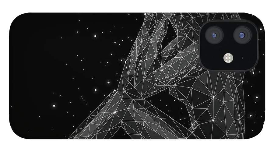 People IPhone 12 Case featuring the digital art The Constellation Of Virgo by Malte Mueller