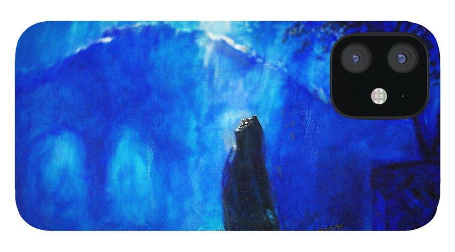 The Gethsemane Prayer iPhone 12 Case featuring the painting The Gethsemane Prayer by Seth Weaver