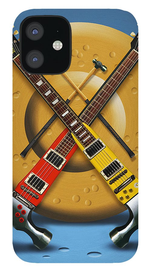 Rock And Roll IPhone 12 Case featuring the photograph The Hammer by Mike McGlothlen