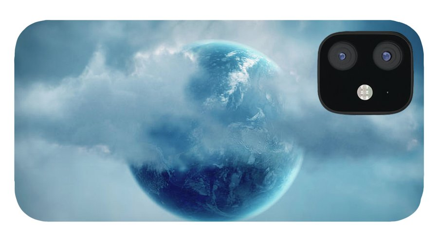 Tranquility IPhone 12 Case featuring the photograph The New World Of Cloud Computing by Colin Anderson
