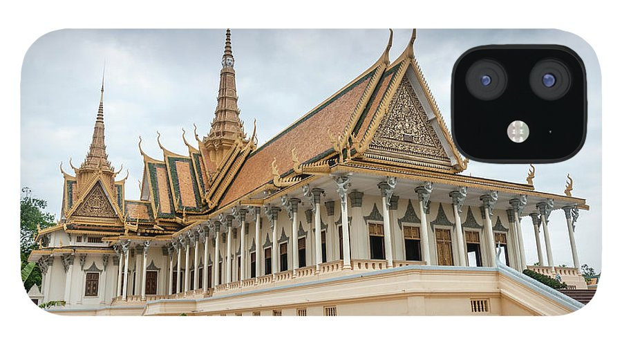 Southeast Asia iPhone 12 Case featuring the photograph The Royal Palace And Silver Pagoda In by Tbradford