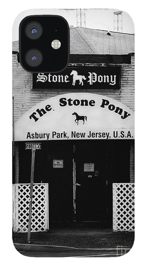 Asbury Park IPhone 12 Case featuring the photograph The Stone Pony by Colleen Kammerer