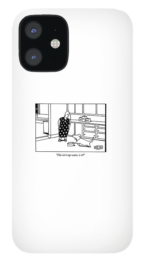 This Isn't Tap Water IPhone 12 Case