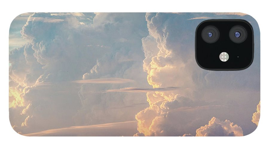 Tranquility iPhone 12 Case featuring the photograph Thunder by Khh 1971