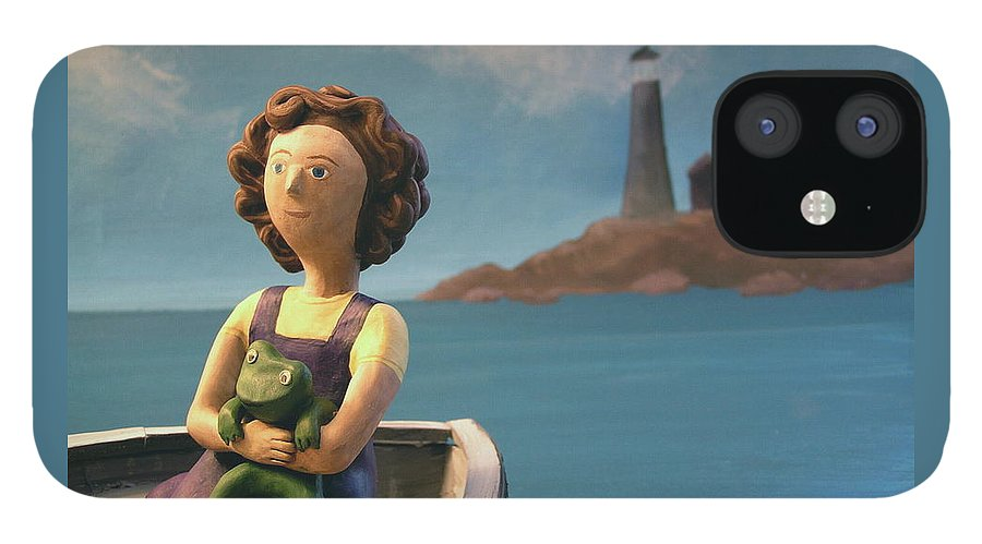 Girl IPhone 12 Case featuring the photograph To the Lighthouse by Jennifer Montgomery
