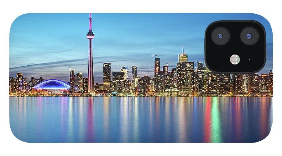 Tranquility IPhone 12 Case featuring the photograph Toronto Skyline by Thomas Kurmeier