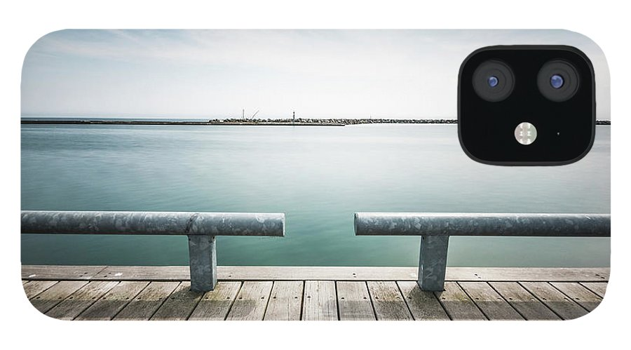 Scenics IPhone 12 Case featuring the photograph Torontos Lakeside by Www.piotrhalka.com
