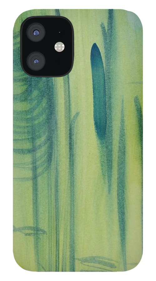 Storm IPhone 12 Case featuring the painting Tropical Depression by Tom Atkins