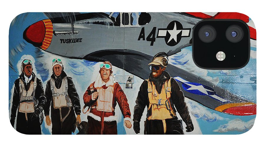 Redtails IPhone 12 Case featuring the photograph Tuskegee Airmen by Leon Hollins III
