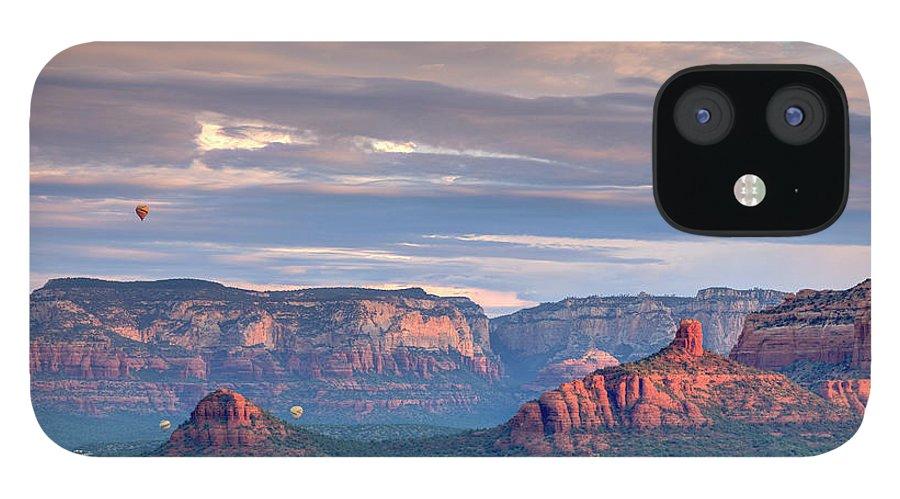 Scenics IPhone 12 Case featuring the photograph Usa, Arizona, Sedona by Michele Falzone