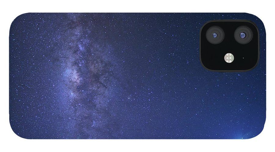 Tranquility iPhone 12 Case featuring the photograph Usa, Hawaii, Maui, Milky Way by Michele Falzone