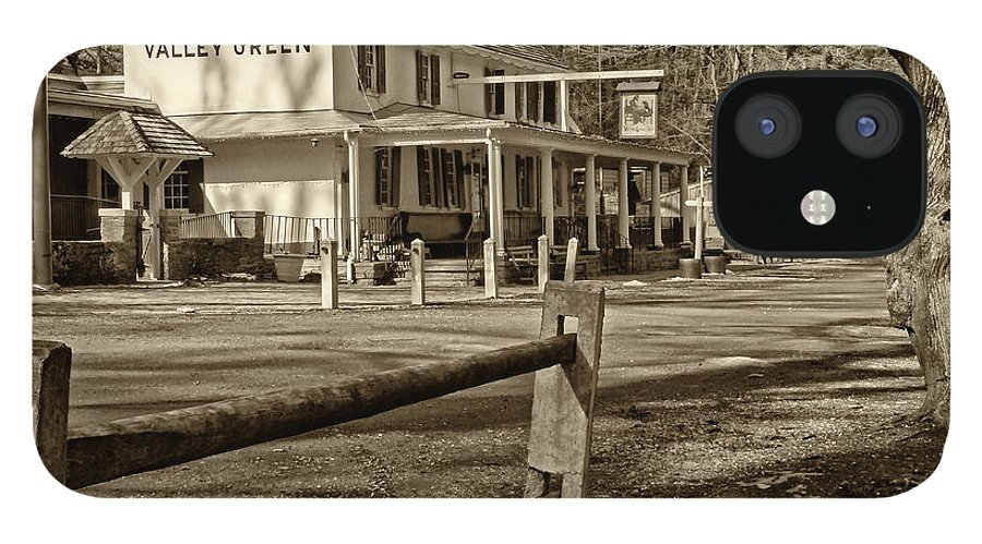 Valley Green Inn IPhone 12 Case featuring the photograph Valley Green Inn 2 by Jack Paolini