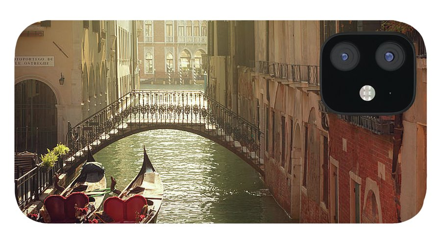 Veneto IPhone 12 Case featuring the photograph Venetian Canal by Mammuth