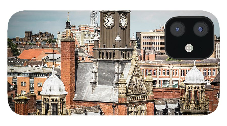 Clock Tower IPhone 12 Case featuring the photograph View Of York Magistrates Court by David Madison