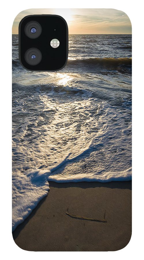New Jersey IPhone 12 Case featuring the photograph Water's Edge by Kristopher Schoenleber