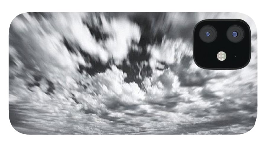 IPhone 12 Case featuring the photograph We Have Had Lots Of High Clouds And by Larry Marshall