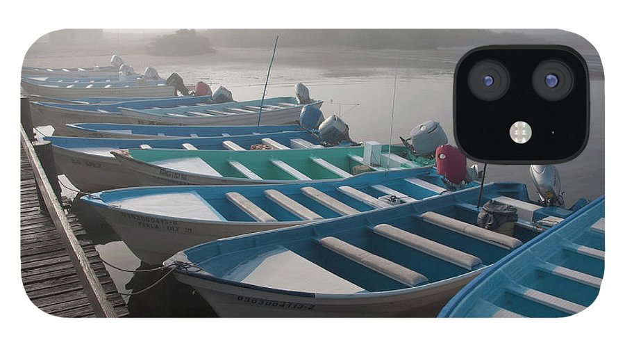 Tourboat iPhone 12 Case featuring the photograph Whale Watching Tour Boats Docked At by Mark Newman