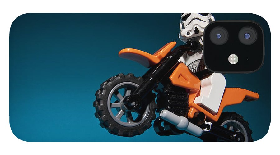 Lego IPhone 12 Case featuring the photograph Wheelie by Samuel Whitton