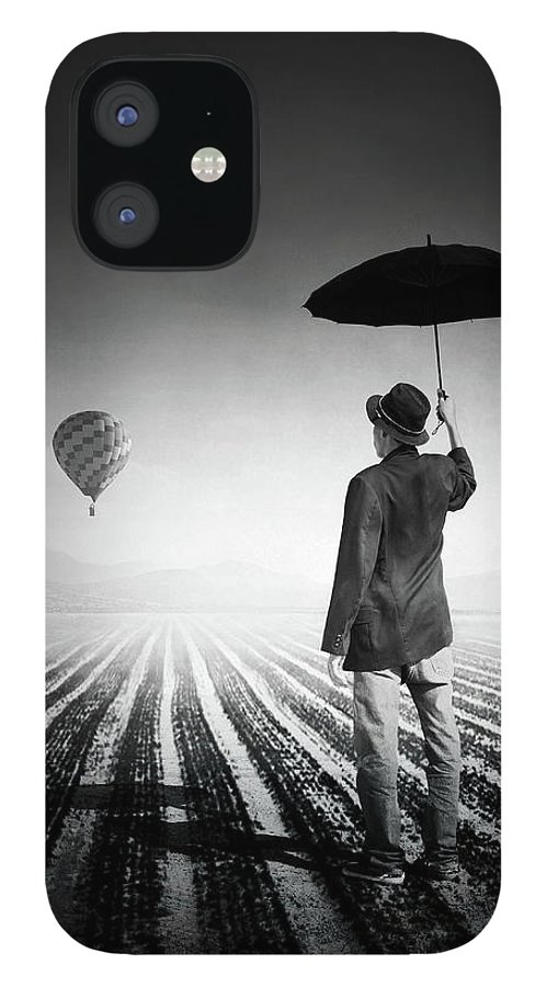Shadow IPhone 12 Case featuring the photograph Where Oblivion Dwells by Saul Landell / Mex