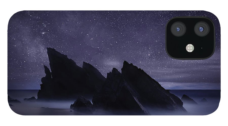 Night IPhone 12 Case featuring the photograph Whispers of eternity by Jorge Maia