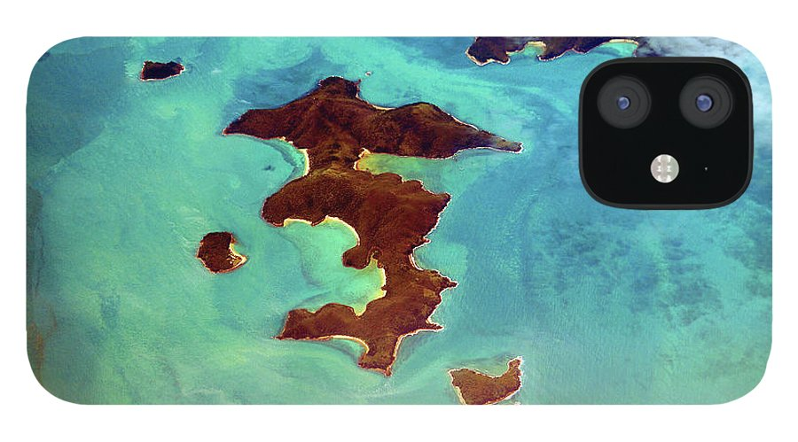 Scenics IPhone 12 Case featuring the photograph Whitsunday Islands by Photography By Mangiwau