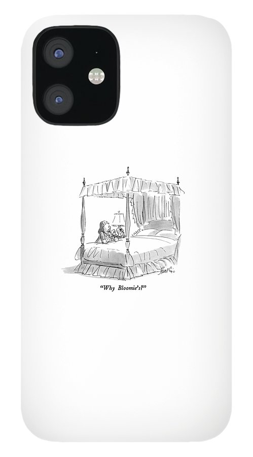 Why Bloomie's? iPhone 12 Case