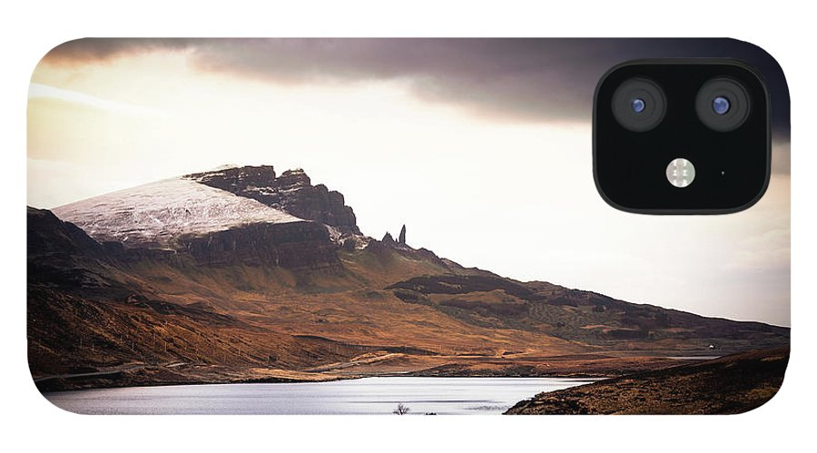 Water's Edge IPhone 12 Case featuring the photograph Wild Nature Landscape In Scotland, Isle by Zodebala