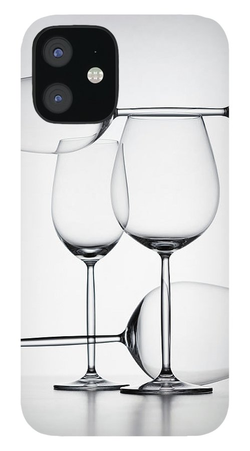 Empty IPhone 12 Case featuring the photograph Wine Glasses by Jorg Greuel