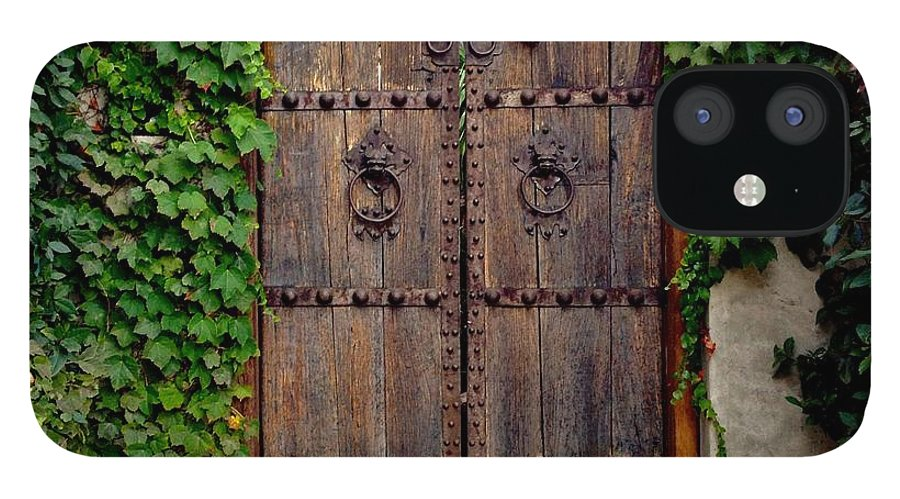 Wooden Gate IPhone 12 Case featuring the photograph Wooden Gate by Julie Gebhardt