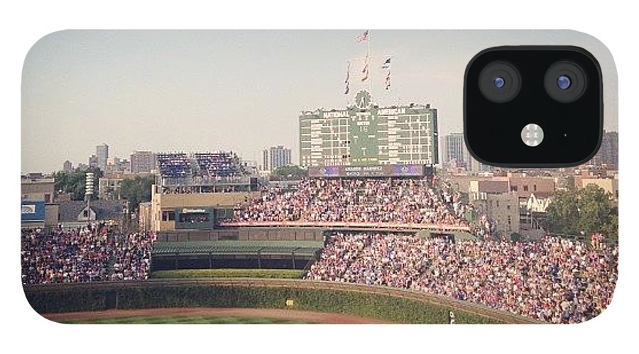 Summer IPhone 12 Case featuring the photograph Wrigley by Mike Maher