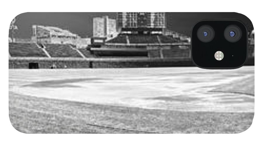 Wrigley Field IPhone 12 Case featuring the photograph Wrigley Panorama by David Bearden