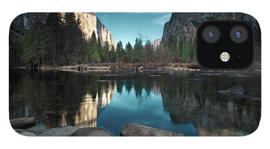 Scenics IPhone 12 Case featuring the photograph Yosemite Valley by Joe Ganster